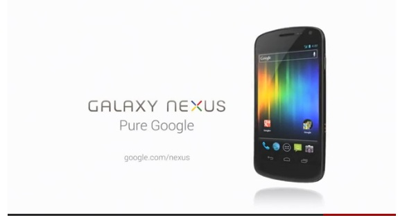 galaxy nexus commercial
