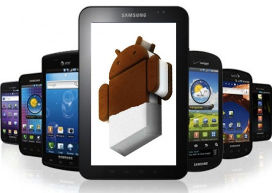 ics galaxy tab s Galaxy S and Galaxy Tab wont get Android 4.0 ICS upgrade
