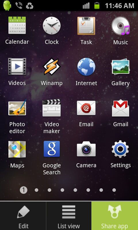 share apps in galaxy s2