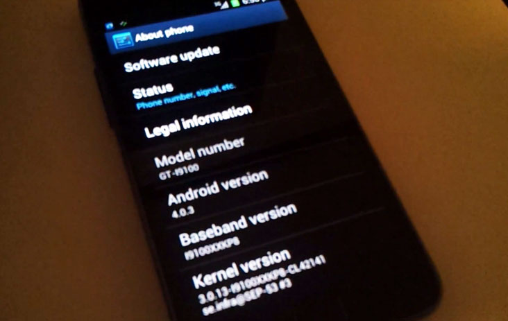 samsaung galaxy s 2 android 4.0.3 ice cream sandwich update
